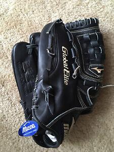 """Left Handed Thrower Mizuno Global Elite LV Series 12"""" GGE 10VBK Baseball Glove"""