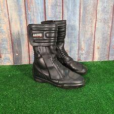 Akito Motorcycle Motorbike Leather Boots UK Size 8 EU 42