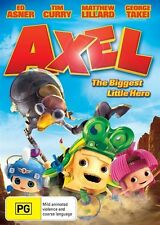 The Axel - Biggest Little Hero (DVD) Ed Ashner Tim Curry [Region 4] NEW/SEALED