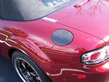 06-12 Mazda Miata MX-5 NC Carbon Fiber Fuel Door Gas Lid