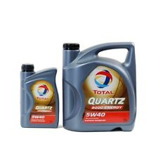 Total Quartz 9000 ENERGY 5W-40 Motoröl 1x5L+1x1L=6 Liter MB 229.1 229.3 229.5 6L