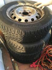 Roues complètes hiver 4 pièce 185/65 R14 Continental Jante pneu tôle 5.5Jx14ET45