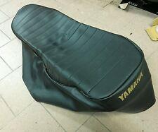 Yamaha SR 500 copertura sella logo fodera Sitzbezug seat cover Bezug Sitzbank