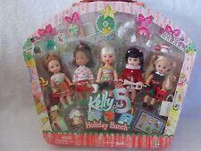 Barbie - Kelly Club Doll - Holiday Bunch - Set