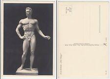 """Arno Breker """"Der Wager"""" Skulptur  Nackter Mann Sculpture Male nude c1940 Gay Int"""