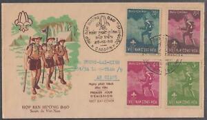 South Vietnam FDC Viet Nam Boy Scout Meeting 25-12-1959