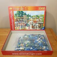 Ravensburger 1000pc Jigsaw Puzzle 'Village Life ' No. 15 486 9 - Complete