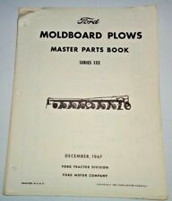 Ford Series 132 Moldboard Plow Master Parts Catalog Manual Book Original 1267