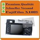 2x FujiFilm X100S CC Schutzfolie Displayschutz Displayschutzfolie Displayfolie