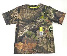 Mossy Oak Break-Up Country Camo Boy Medium 8 Short Sleeve Hunting Shirt Tee NWT