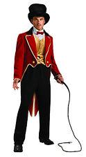 Adult Ringmaster Costume Circus Lion Tamer Men's Size Standard