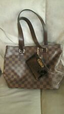 Louis Vuitton Damier Ebene Cabas Mezzo purse; authentic