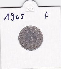 1/2 Mark 1905 F Deutsches Reich 900er Siber