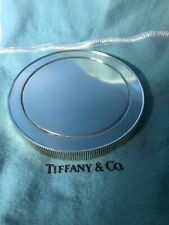Authentic Tiffany & Co. Coin Edge Sterling Silver Paperweight Circa 2003