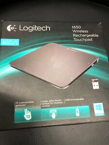 Logitech Rechargeable Touchpad T650 Nice Used Condition,UK SELLER