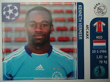 Panini 244 Kenneth Vermeer Ajax Amsterdam UEFA CL 2011/12
