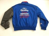 Nascar Chase Authentics Mens Large Ford Racing SpellOut Dale Jarrett #88 Jacket