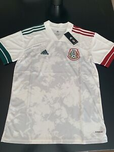 2020-21 Official Mexico Away Jersey - White