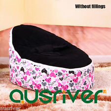 Premium Cotton Velvet Baby Bean Bag Cover Kids Beanbag 3 Colours Madron BB17742