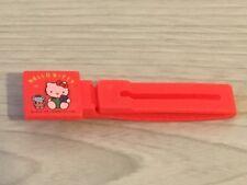 Vintage Sanrio Hello Kitty 1991 Red Hair Clip Slide Grip Accessories Girls