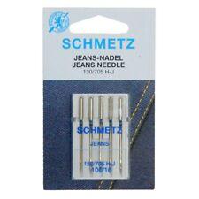 Schmetz Needles - Jeans, Size 100/16 - Hangsell pack of 5 needles
