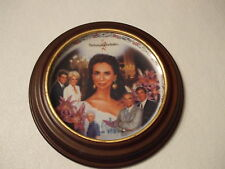 JILL'S ESCAPADES PLATE THE YOUNG AND THE RESTLESS INCLUDES FRAME