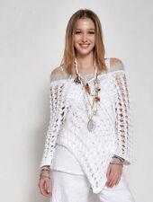 Langarm Damen-Pullover & -Strickware aus Viskose M