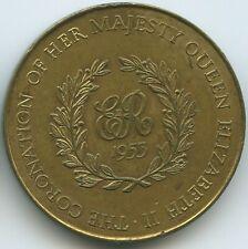 M869 - Medaille Großbritannien Coronation 1953 Krönung Queen Elizabeth II.