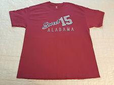 Alabama Crimson Tide Sweet 15 T Shirt XL XLarge NWOT NEW Red NCAA University