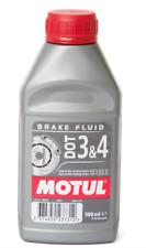 Motul dot 3 & 4 Brake Fluid Auto Motorcycle Quad Atv Mx Enduro Scooter Chopper