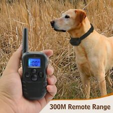 New Petrainer Rechargeable Electric Dog Training Collar Shock Collar LCD Remote