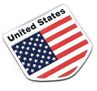 Aufkleber USA United States of America Metall selbstklebend 3D Auf Kleber Wappen