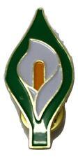 EASTER LILY ENAMEL PIN BADGE - IRISH REPUBLICAN 1916 RISING REBEL IE
