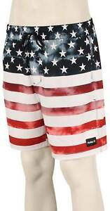 """Hurley Independence 17"""" Volley Shorts - White - New"""