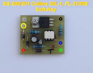 Soft-Key Keying Interface for SB-200/201, COLLINS 30L-1 & FL-2100/B