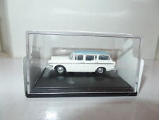Oxford 76SS005 SS005 1/76 OO Scale Humber Super Snipe Estate Foam White Blue