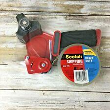 Brand New 3m Scotch Shipping Tape Gun Dispenser Heavy Duty 3 1 Roll Tape