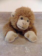 Animal adventure monkey 16 inch Plush Brown Laying 2000