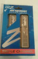 OCZ Platinum 3GB (3 x 1GB) DDR3 1333 (PC3 12800) TripleChannelNEW OPEN BOX