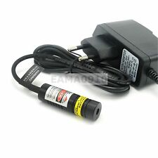 Focusable 780nm 100MW 5V Infrared Dot Laser Diode Module w/AC Adapter 14.5x45mm