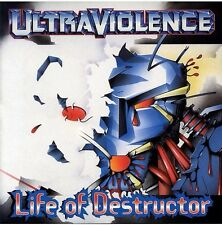 UltraViolence - Life Of Destructor - CD - Rare Out Of Print