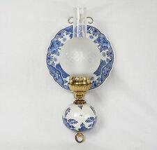 Raam Delft Blau Delfts Blauw Wandlampe Lampe Dutch Pottery Holland 1 von 2