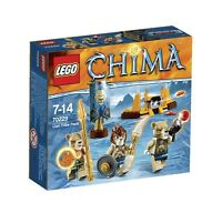 LEGO Legends of CHIMA 70229 Tribù dei Leoni costruzioni PRONTA CONSEGNA 78 pezzi