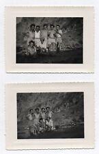 PHOTO ANCIENNE Homme Gay Interest 1960 Torse nu Groupe Short Lot 2 photos