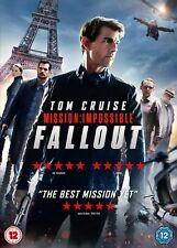 Mission Impossible - Fallout DVD 2018 to Be Released 3rd December
