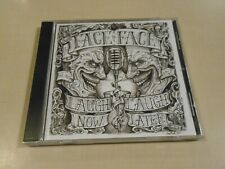 Laugh Now Laugh Later CD by Face to Face 2011 Antagonist Alternative Rock