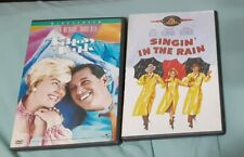 Lot of 2 Dvds Singin In The Rain Musical 1951 And Pillow Talk Comedy 1959