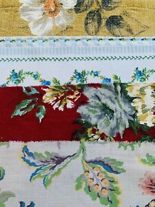 Vintage  Fabrics 1950s Scrap / Bundle Patchwork / Craft/ Quilting / #6