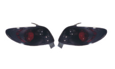 Peugeot 206CC Convertible 1998-2008 Black Rear Lexus Tail Lights - 1 Pair