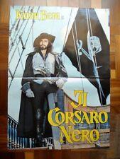 Soggettone IL CORSARO NERO 1976 Kabir Bedi, Sergio Sollima, Carole Andrè